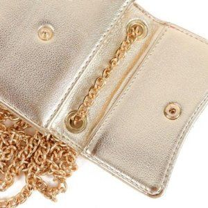 Multipurpose  Gold Wallet Bag